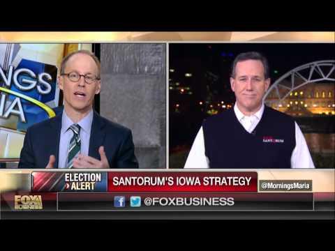 Santorum: I'm not running for Vice President, I'm running for President