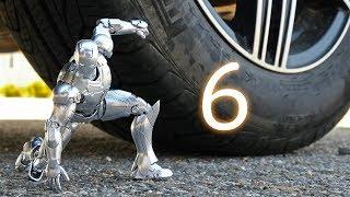 CAR VS IRON MAN 6