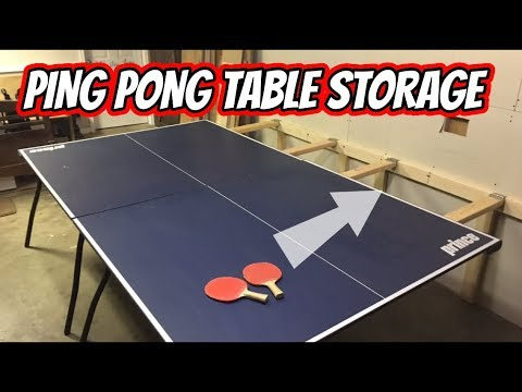 Ping Pong Table (ultimate STORAGE) Must Watch