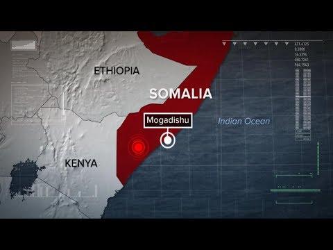 US airstrikes target al-Shabab militants in Somalia