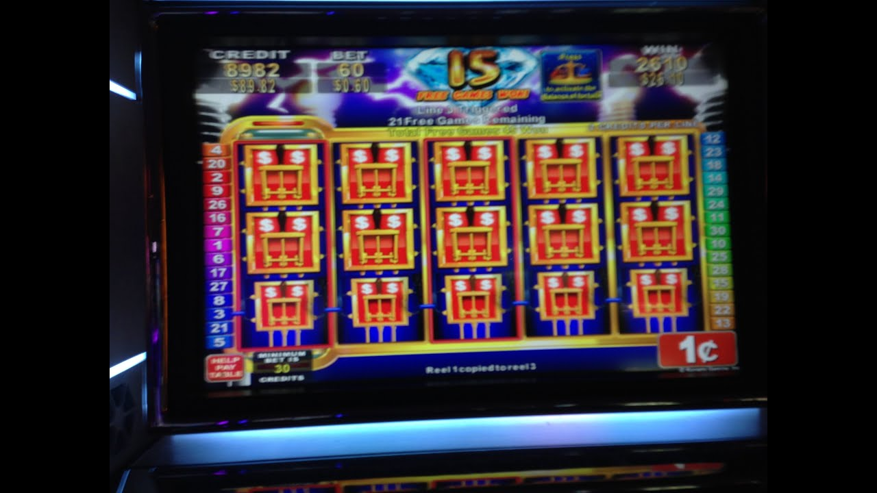 Electrifying riches konami slot machine bonus win full for List of slot machines at motor city casino