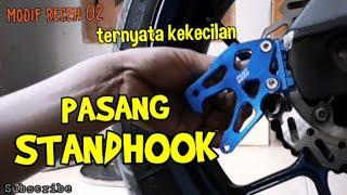 Cara Pasang Standhook Arm Yamaha  MT25 / R25 new Vixion Ninja