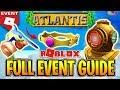 ROBLOX ATLANTIS EVENT TUTORIAL - HOW TO GET EVERY ITEM!