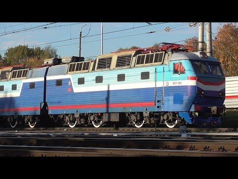 ЧС7 041 с поездом Москва Екатеринбург
