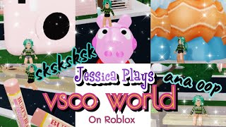 Roblox Vsco Girl ~ Trying Out Roblox Vsco World ~ LPS Cupcake Family #vsco #robloxvsco