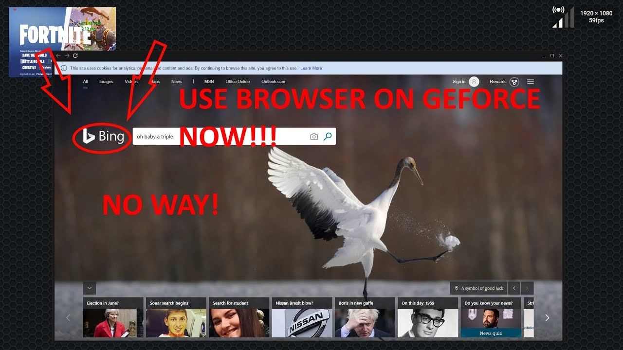 GEFORCE NOW TRICK! USE BROWSER!!! WORKING 2019! (not minecraft method cos  minecraft is gone)
