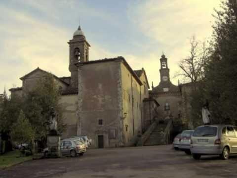 Monastery of Montesenario in Tuscany Italy