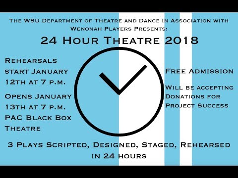 Winona State University: 24 Hour Theatre 2018 | Full Production