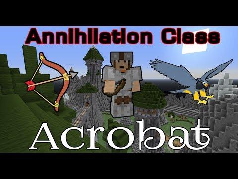 Minecraft Annihilation Class - Acrobat