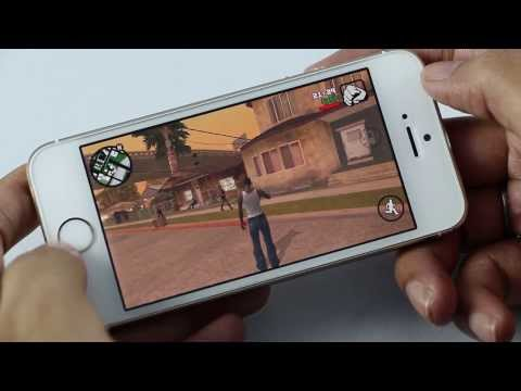 GTA San Andreas Gameplay on iPhone 5S (iOS)