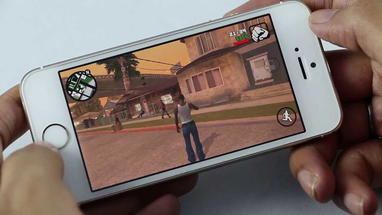 Free Wallpaper For Iphone 5s Gta San Andreas Gameplay On Iphone 5s Ios Youtube