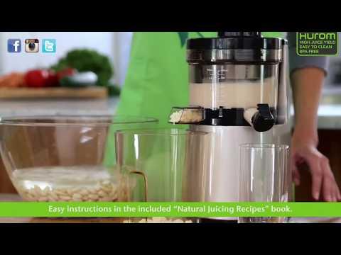 Jak przygotować mleko orzechowe - poradnik - Hurom