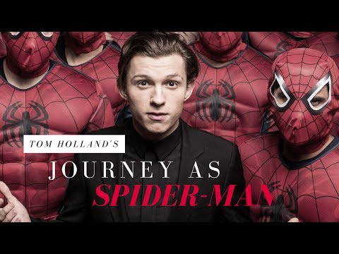 TOM HOLLAND - JOURNEY AS SPIDER-MAN