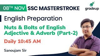 Nuts and Bolts of English| Daily Live session @ 10:45 AM