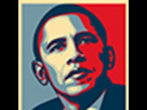 Photoshop Tutorial: How To Make Obama's HOPE POSTER Using Your Own Face.