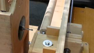 """slot Mortise Machine"" With ""lathe Attachment"""
