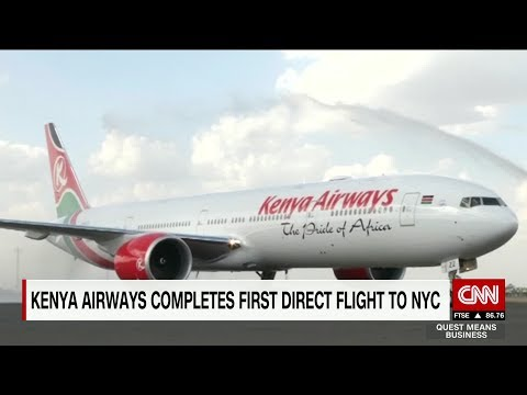 NEW: Nairobi to New York Now Non-Stop