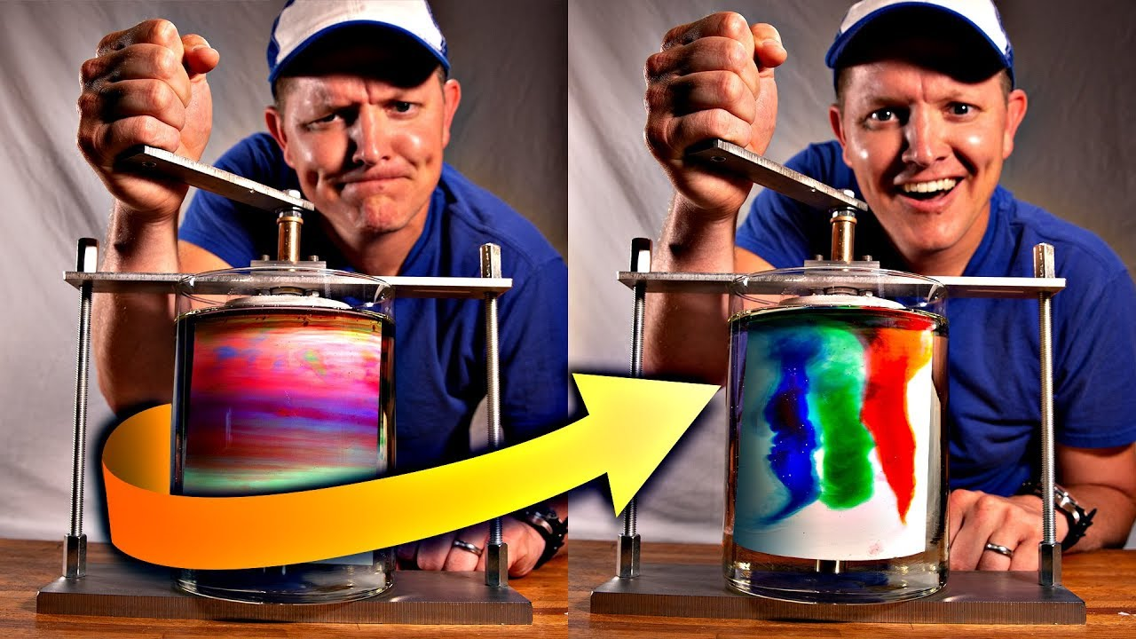 Unmixing Color Machine (Ultra Laminar Reversible Flow) - Smarter Every Day 217