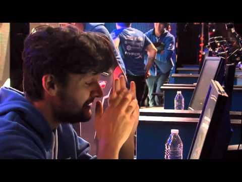 fer's reaction after winning - Luminosity vs NAVI MLG CS:GO Major Championship: Columbus Final