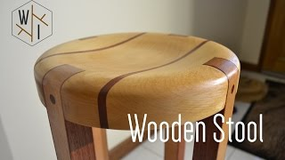 A wooden stool made from european beech and jarrah. Thanks for watching and please share! T-SHIRTS: https://shop.spreadshirt.