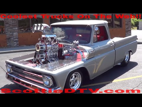 1965 Chevy Pickup Twin Supercharged