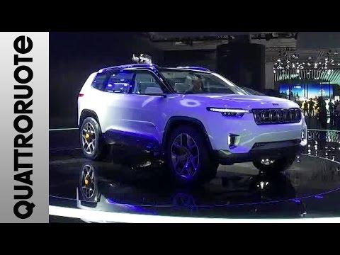 Jeep Yuntu al Salone di Shanghai 2017   Quattroruote