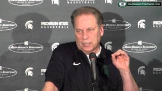 Tom Izzo Press Conference: Previewing Oklahoma, the Sweet 16, and surprises this year