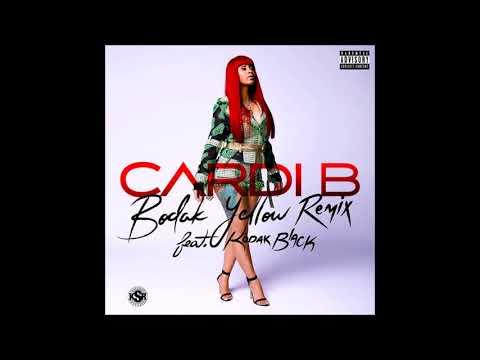 Cardi B - Bodak Yellow (feat. Kodak Black) [Remix]