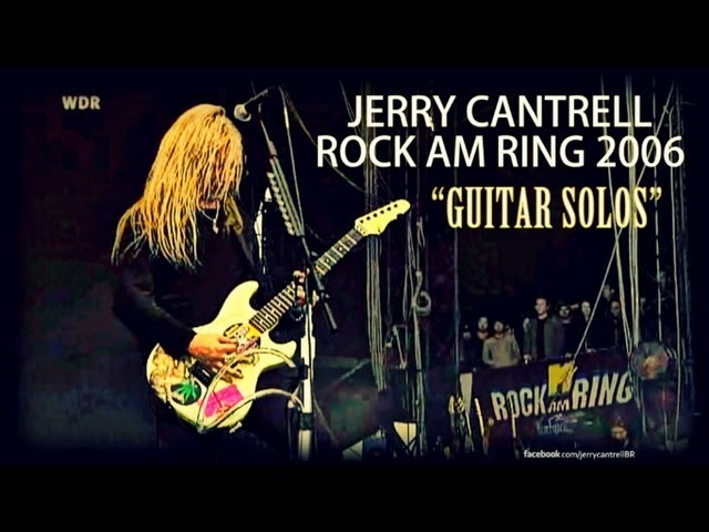 Jerry Cantrell - Rock am Ring 2006 (Guitar Solos)