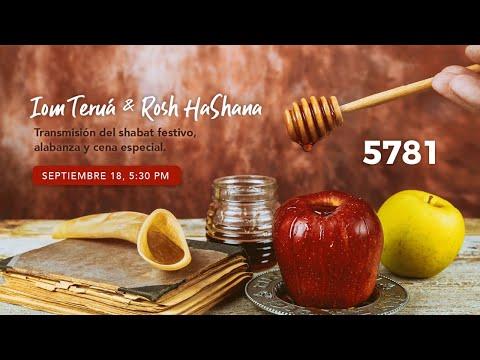 Celebración de Iom Teruáh / Rosh Hashana 5781