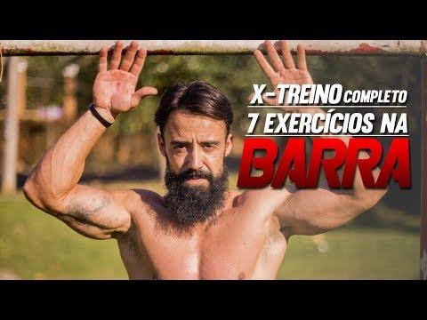 Treino 7 Exercícios Para Fazer  na BARRA FIXA | Xtreme Calisthenics