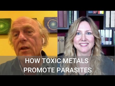 183 How Toxic Metals Promote Parasites with Dr  Dietrich
