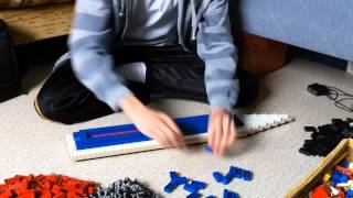 Building A Massive Lego Cruise Ship