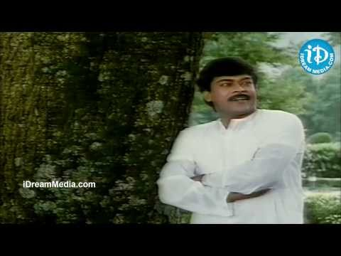 Shobana, Chiranjeevi Best Love Scene - Rudraveena Movie