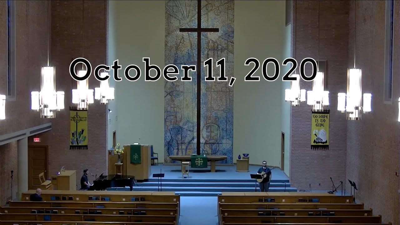 October 11 Worship: Part Three of The Generosity Challenge