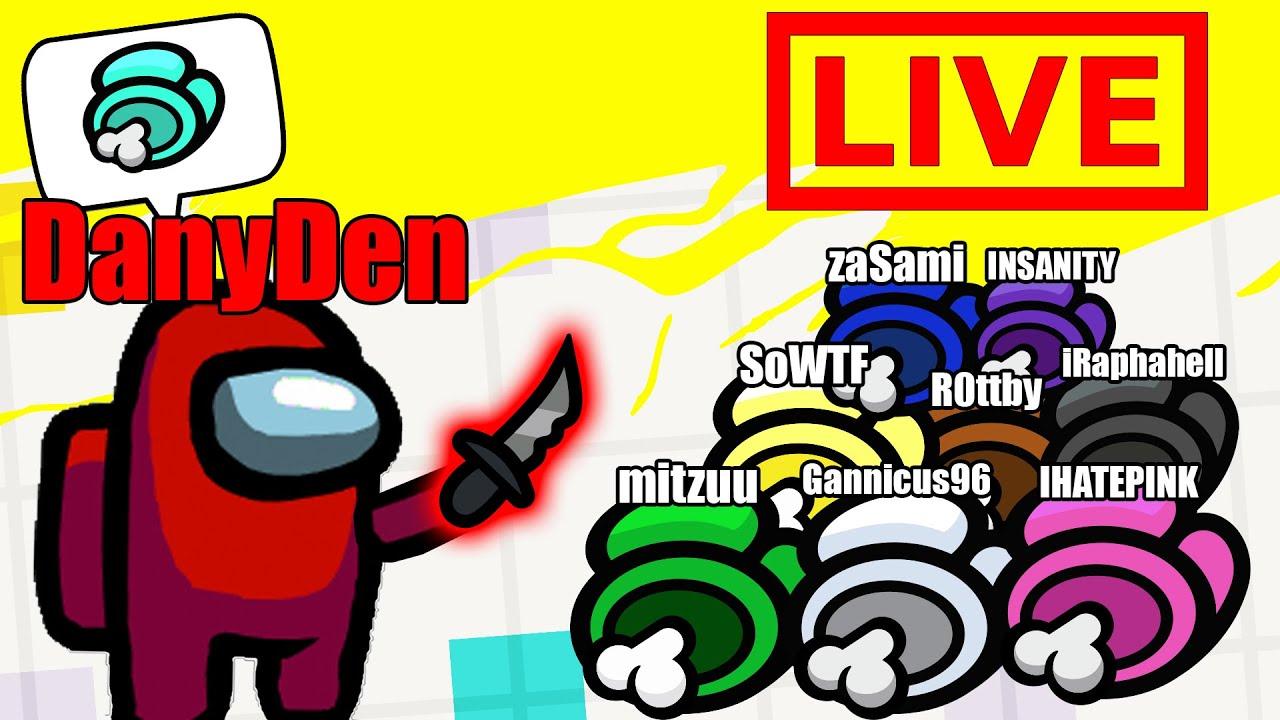 Jucam LIVE Among Us cu YouTuberi! cu zaSami, mitzuu, R0ttby, SoWTF, Gannicus96