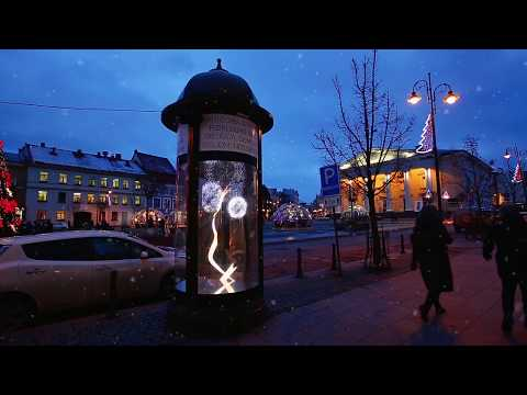 Freixenet brings Christmas magic to the streets of Vilnius | JCDecaux Lithuania