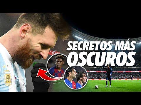Los 5 más OSCUROS SECRETOS de Messi que han REVELADO sus compañeros y DT´s