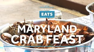 How to Cook (And Eat) A Maryland Crab Feast