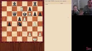 Уроки шахмат с Вероникой Юдиной № 001