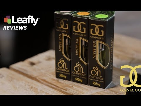 Live Resin Cartridge from Ganja Gold – Leafly Reviews