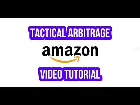 Tactical Arbitrage Vende en Amazon FBA Video Tutorial Como encontrar artículos para vender en Amazon