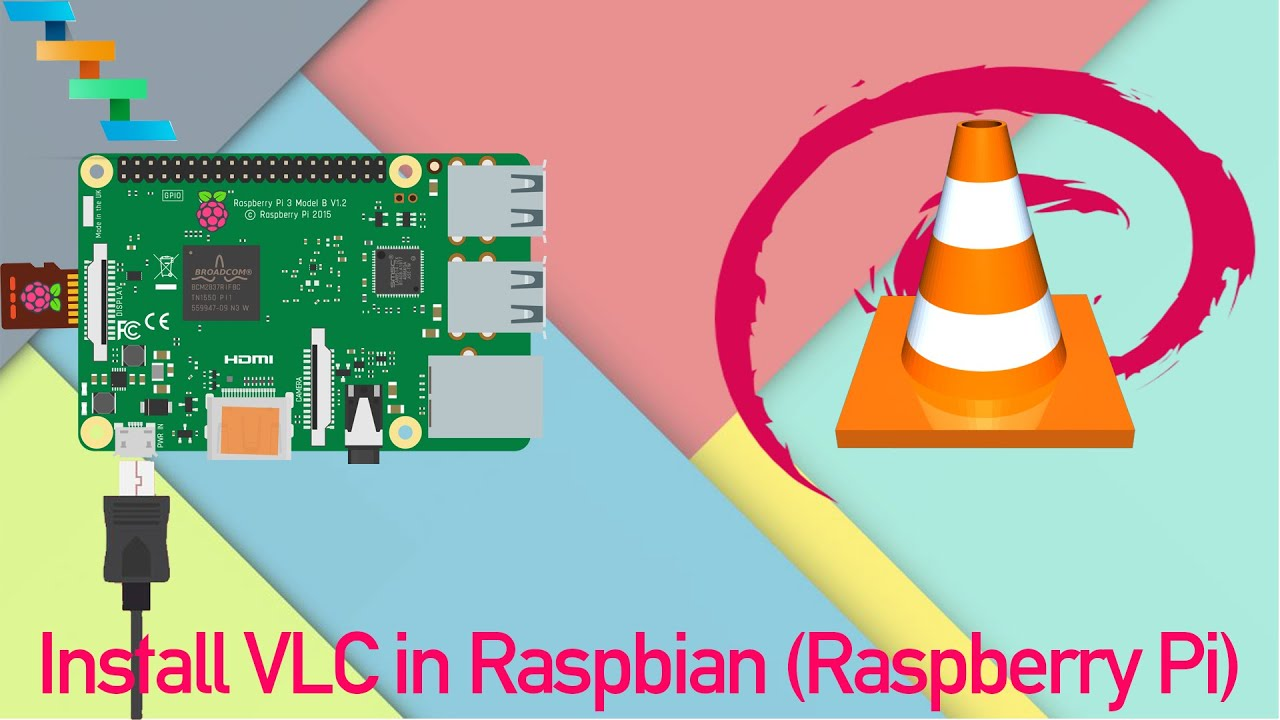 how to install vlc media player in raspberry pi 3