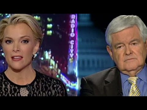 Megyn Kelly and Newt Gingrich clash during interview