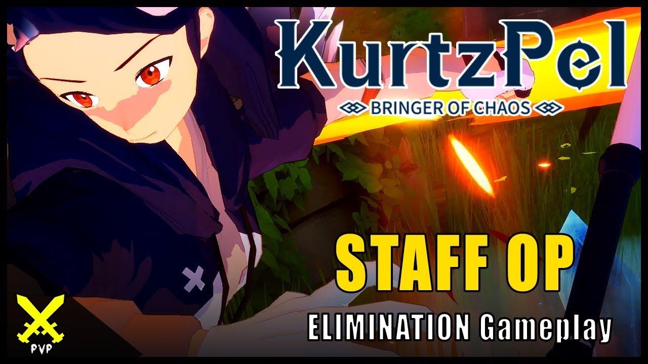 Kurtzpel ▼ STAFF OP [Staff Karma & Greatsword] PvP Gameplay