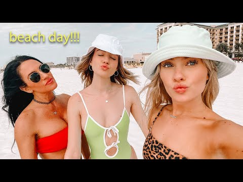 Day In My Life At The Beach! *family Vlog*
