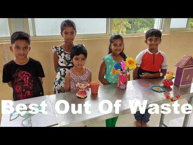 Best out of waste crafts ideas / competition / how to prepare useful things from waste materials