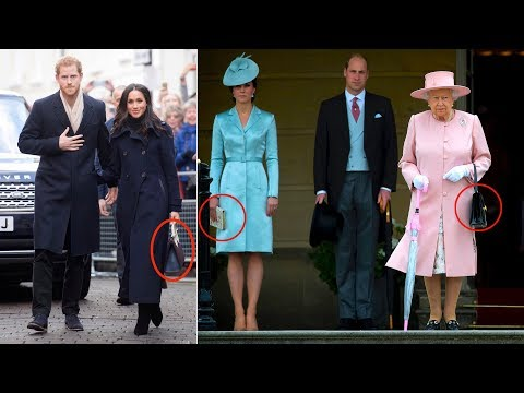 People think Meghan Markle's tote bag broke royal protocol - here's why