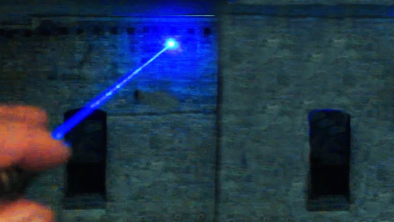 1w Blue Laser Diagram Mcb Board Wiring Beam In La City Skyline 1ワット青色レーザービームロサンゼルス
