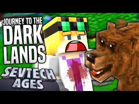 Minecraft - JOURNEY TO THE DARK LANDS - SevTech Ages #8
